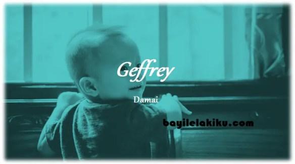 arti nama Geffrey