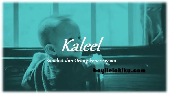 arti nama Kaleel