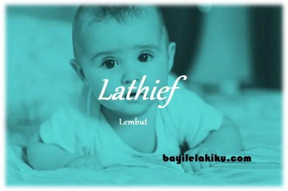 arti nama Lathief