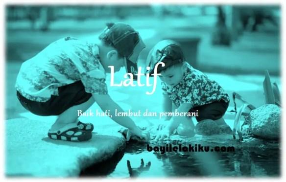 arti nama Latif