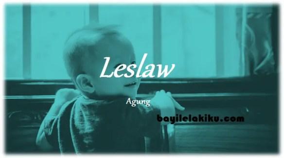 arti nama Leslaw
