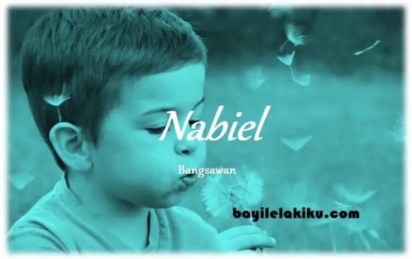 arti nama Nabiel