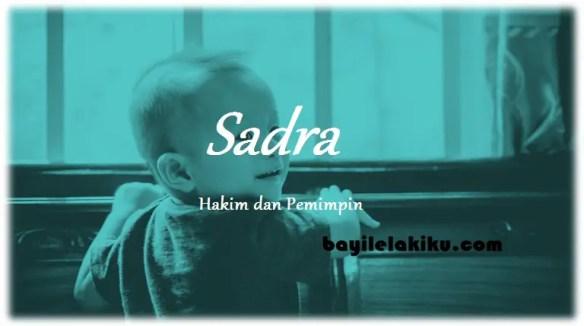 arti nama Sadra