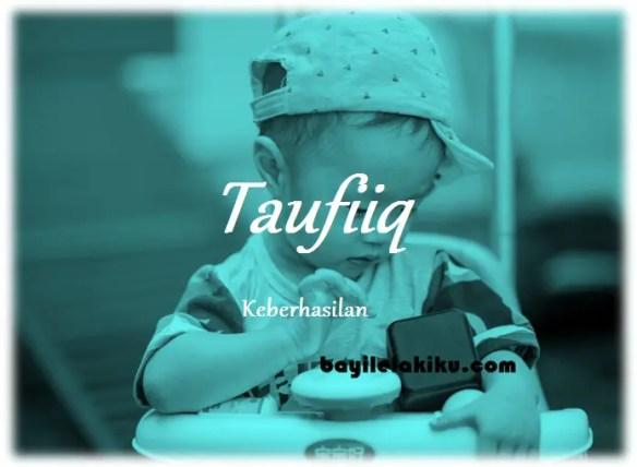 arti nama Taufiiq