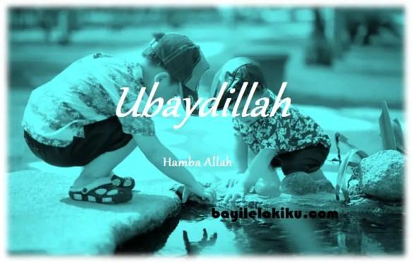 arti nama Ubaydillah