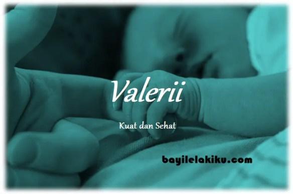 arti nama Valerii