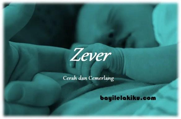 arti nama Zever