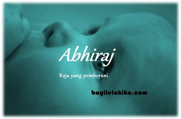 arti nama Abhiraj