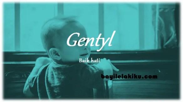 arti nama Gentyl