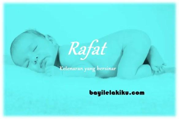 arti nama Rafat