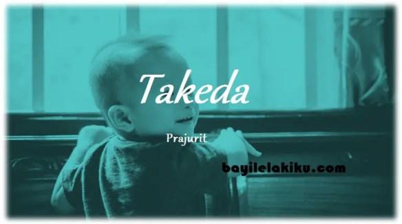 arti nama Takeda