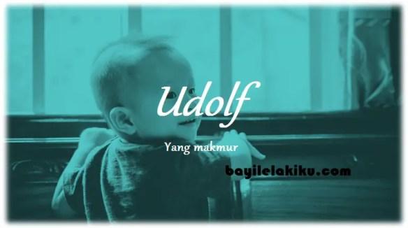 arti nama Udolf