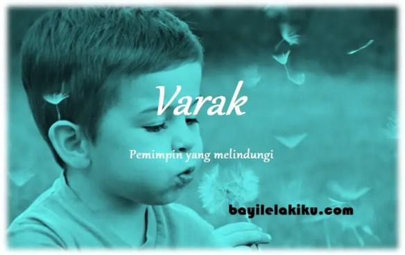 arti nama Varak