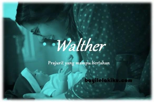 arti nama Walther