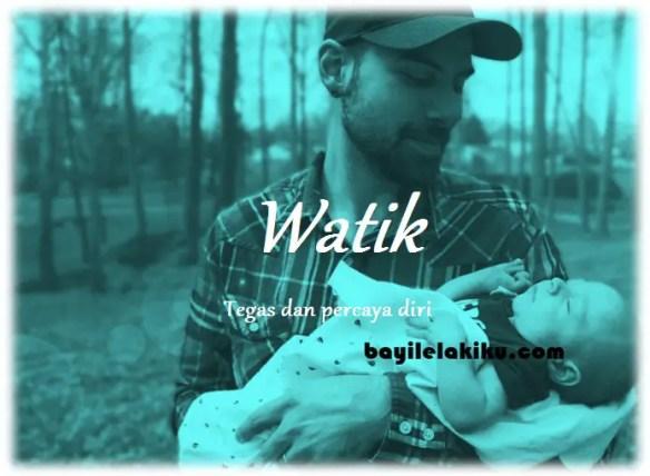 arti nama Watik
