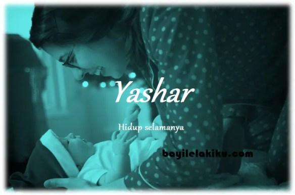 arti nama Yashar