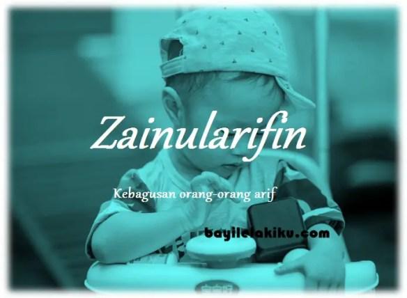 arti nama Zainularifin