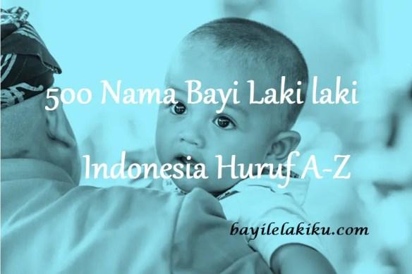 Nama Bayi Laki laki Indonesia