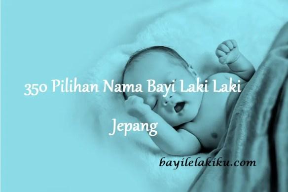 Nama Bayi Laki Laki Jepang