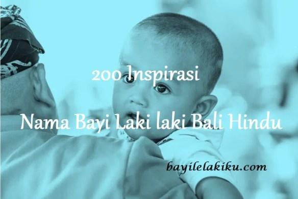 Nama Bayi Laki laki Bali Hindu