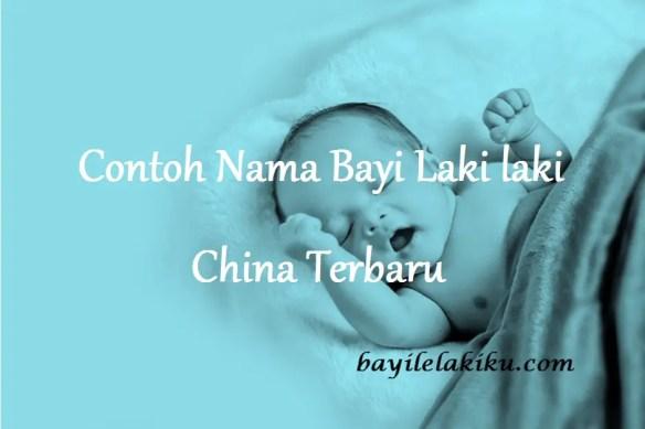 Nama Bayi Laki laki China