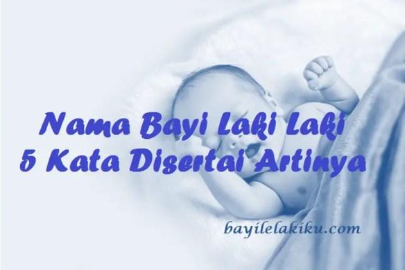 Nama Bayi Laki Laki 5 Kata