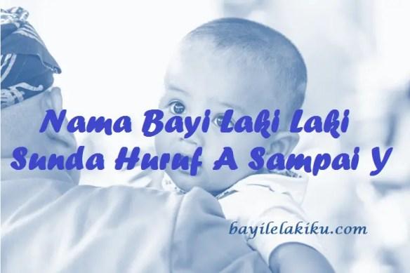 Nama Bayi Laki Laki Sunda