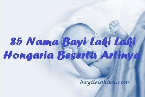 Nama Bayi Laki Laki Hongaria