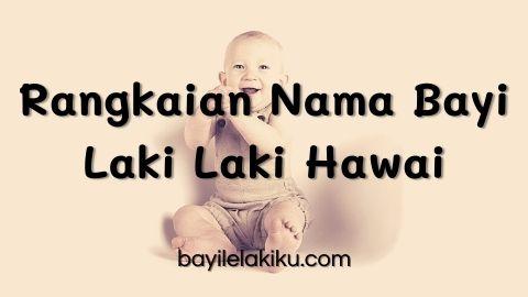 Rangkaian Nama Bayi Laki Laki Hawai