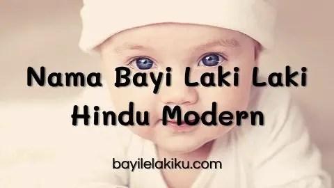 Nama Bayi Laki Laki Hindu Modern