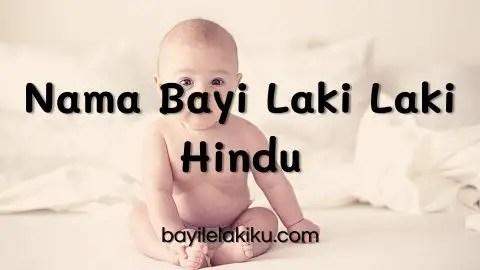 Nama Bayi Laki Laki Hindu