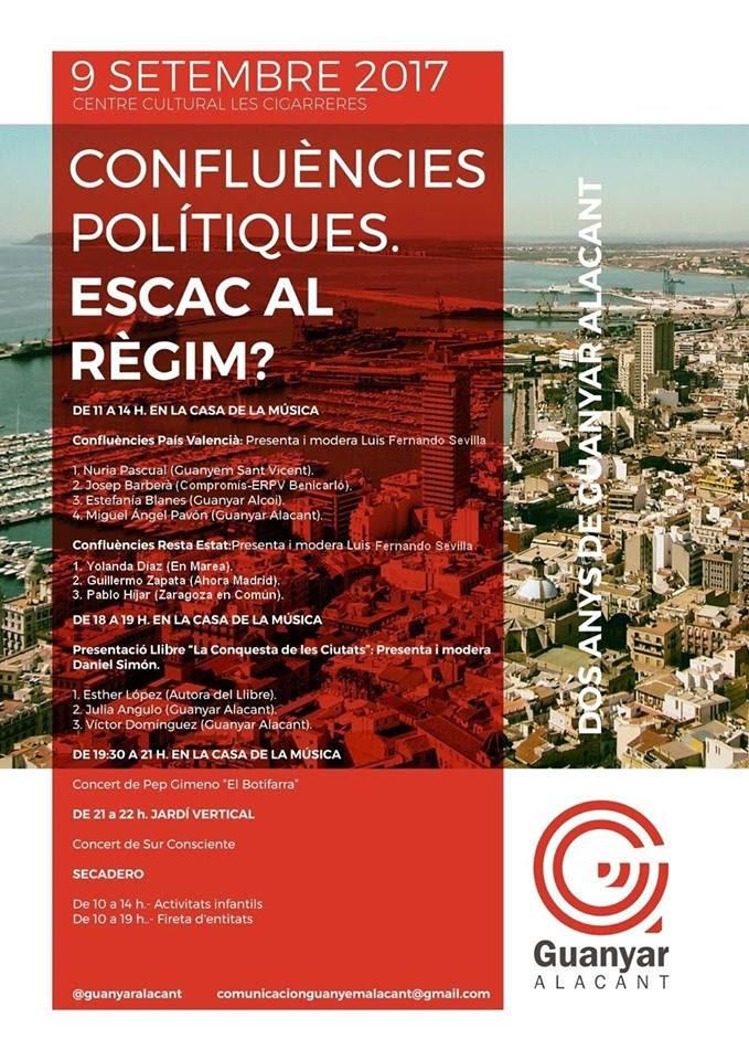Confluències polítiques, escac al règim? 2 anys de Guanyar Alacant