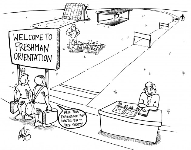 Editorial: College's forced fitness activities go too far