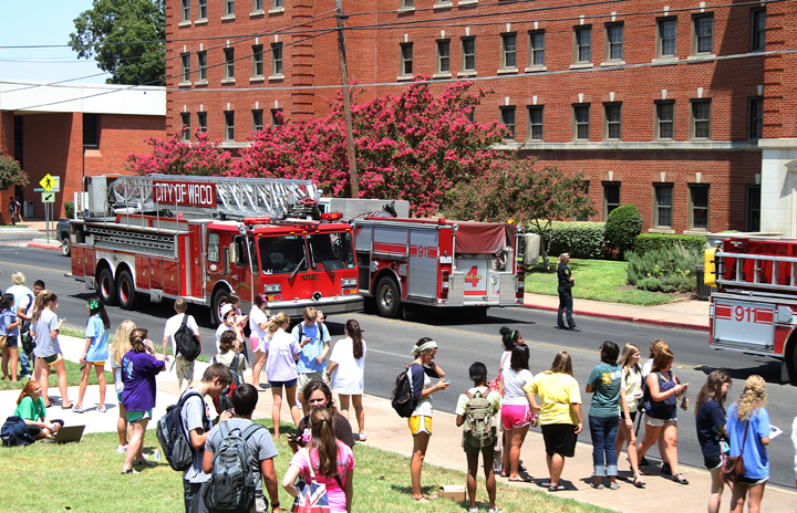 Fire at Collins Hall extinguished  The Baylor Lariat