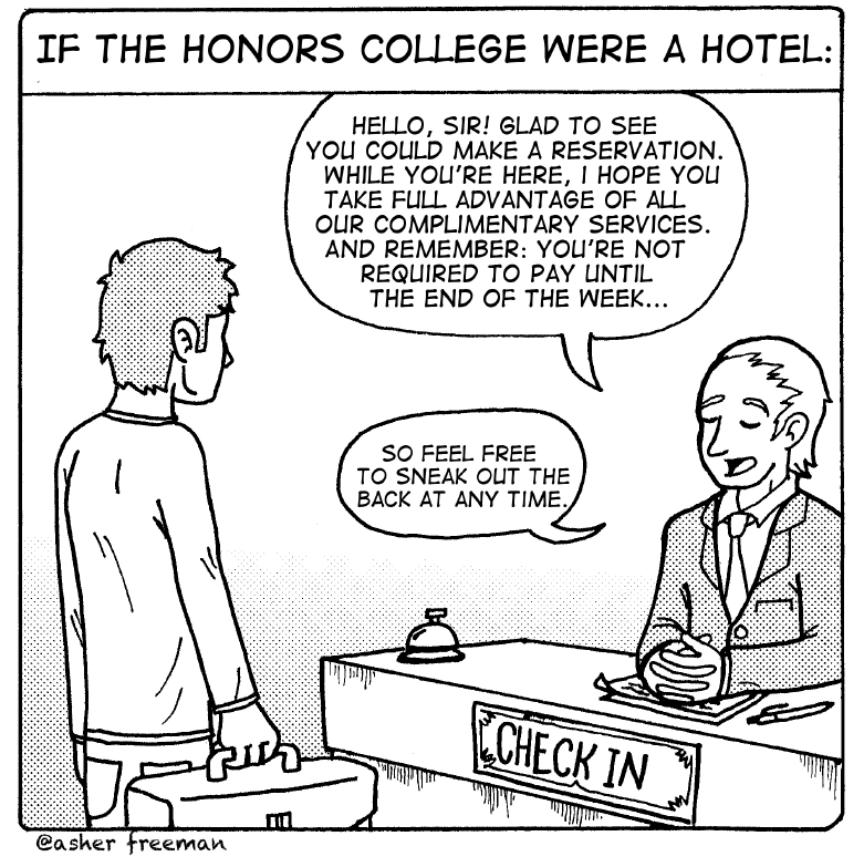 Editorial: Honors students need to show a little more