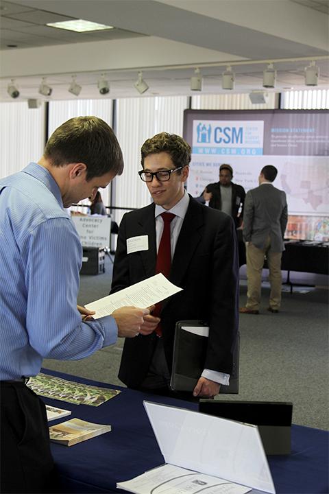 Maps Career Fair Builds Relationships Between Students