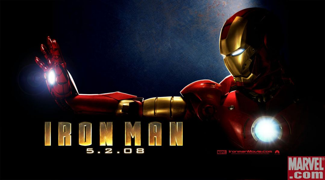 Image result for iron man horizontal  poster