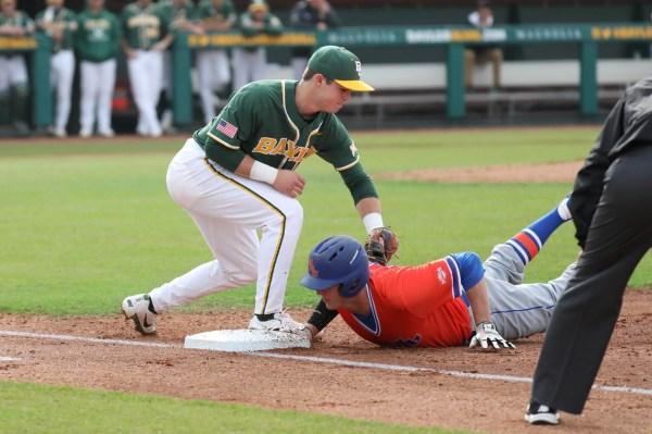 Baseball Cruises Kansas 10-5 In Big 12 Tournament Baylor Lariat