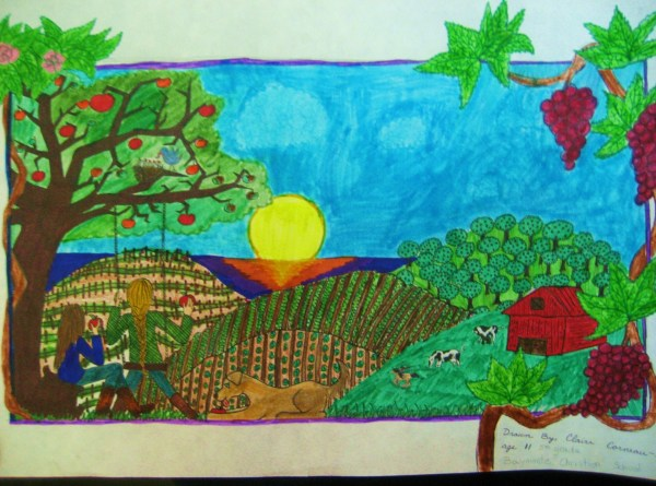 Baymonte Student Honored 2012 Agriculture Day