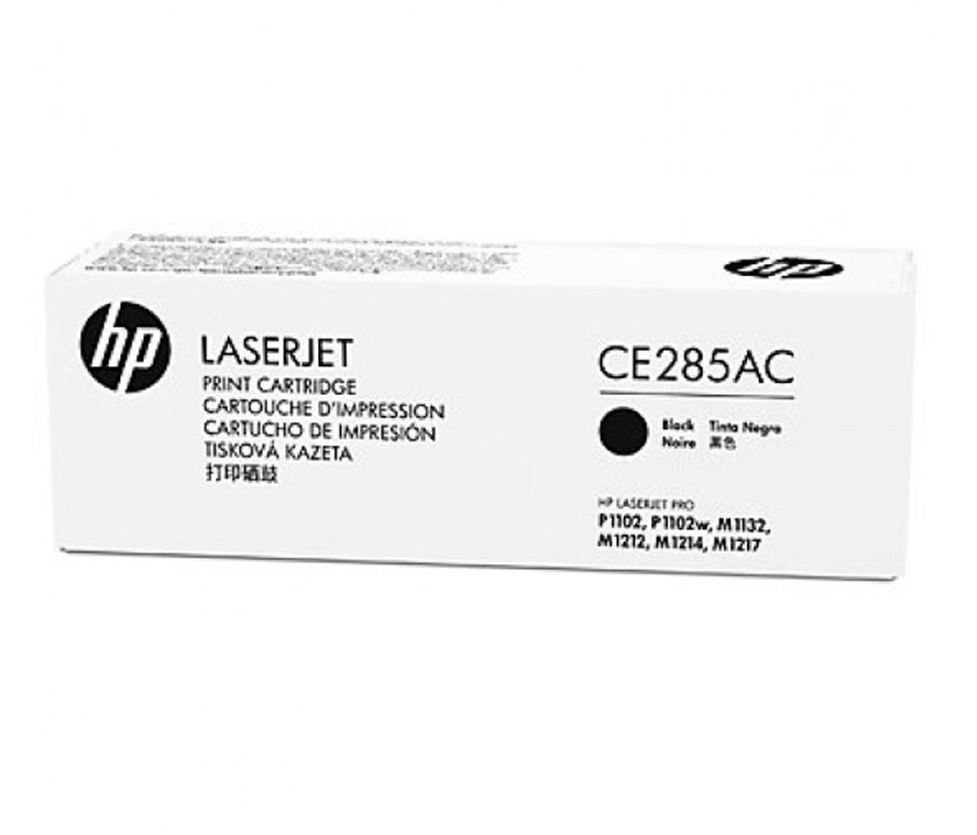 TONER HP CE285AC LASERJET 85AC (CONTRACT) ORIGINAL BLACK