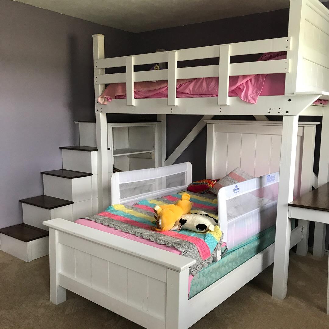 Girl's Bunk Beds