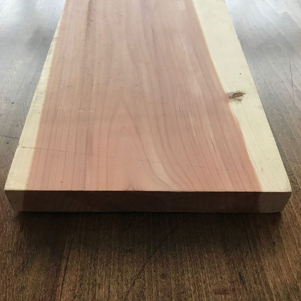 Planed Cedar Wood