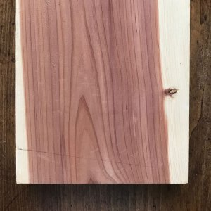 Planed Cedar Wood Length