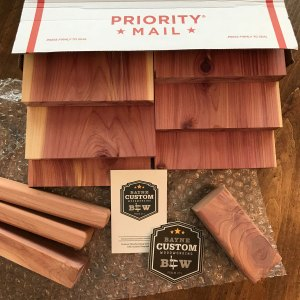 Cedarwood sign BONUS box