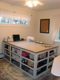 The Perfect Sewing/Cutting Table   BAYOUSTIA