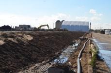 Berm Construction (East Side) (11/2014)