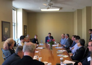 Asm. Mullin Meets with Members to Discuss Permitting of Waterfront Projects