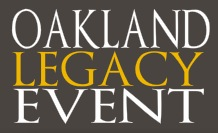 Oakland Legacy Event