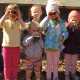 kids in the creepy crawler nature class