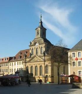 Kirchen  Kirchen in Bayreuth  Festspielstadt Bayreuth
